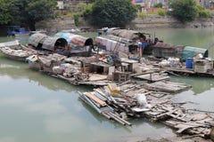 Shapowei fishing port Stock Photo