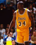 Shaquille O'Neal, Los Angeles Lakers Image stock