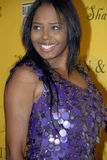 Shar Jackson on the red carpet. Royalty Free Stock Image