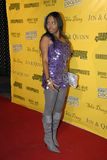 Shar Jackson on the red carpet. Stock Photo