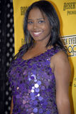 Shar Jackson on the red carpet. Royalty Free Stock Images