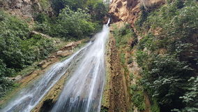 Sharansh waterfall royalty free stock photos