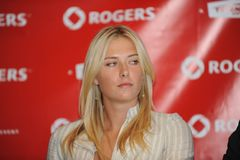 Sharapova Maria at Rogers Cup 2009 (18) Stock Photography
