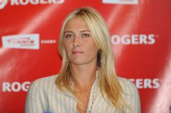 Sharapova Maria at Rogers Cup 2009 (4) Stock Photo