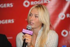 Sharapova Maria russian superstar Royalty Free Stock Image