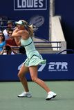 Sharapova in Rogers Cup Finals Royalty Free Stock Images