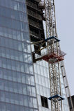 Shard - κατασκευή Στοκ εικόνες με δικαίωμα ελεύθερης χρήσης