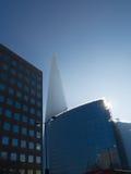 Shard μέσω της ελαφριάς ομίχλης στοκ φωτογραφία με δικαίωμα ελεύθερης χρήσης