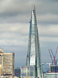 The Shard. As seen from a roof top in South East London Stock Images