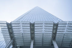 The Shard Building in London wide angle shot Stock Photos