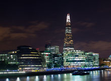 Shard, City Hall and Other Buildings in London Stock Photography