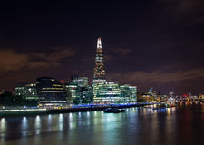 Shard, City Hall and Other Buildings in London Royalty Free Stock Photo