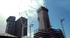 Shard construction Stock Image