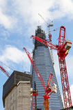 The Shard construction Royalty Free Stock Photography