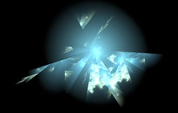 Shard explosion Royalty Free Stock Photo