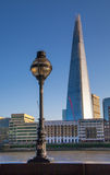 Shard of glass in sunset. London Stock Image
