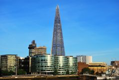 The Shard of Glass Tower in London Stock Photo