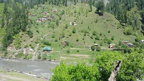 Shard ha In Kashmir Pakistan. Shard ha is a beautiful place in Azaad Kashmir Pakistan where people come as tourist from all over the world Stock Images