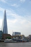The Shard and HMS Belfast Stock Image