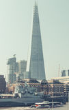 The Shard and HMS Belfast Royalty Free Stock Image