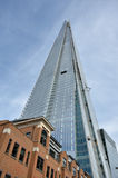 Shard london stock image