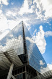 The Shard in London with beautiful dramatic sky Royalty Free Stock Photos