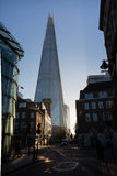 The Shard in London from Borough Market Stock Image