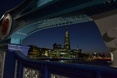 Shard London Bridge Royalty Free Stock Photos