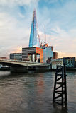 Shard and London Bridge Stock Photo