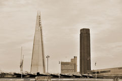 Shard London Bridge Stock Photo