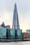 Shard London Bridge. Modern Skyscraper in the London Skyline stock photo