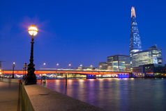 The Shard and London Bridge Stock Photography
