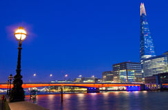 The Shard and London Bridge Stock Images