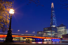 The Shard and London Bridge Royalty Free Stock Images