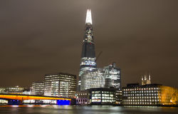 The Shard and London Bridge Royalty Free Stock Photo