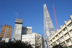 The Shard, London. The iconic Shard building in central London, UK stock photos