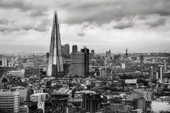 The Shard - London Skyline stock image