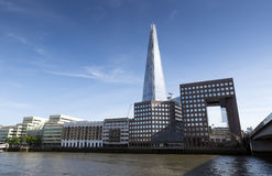 The Shard on London skyline Stock Photography