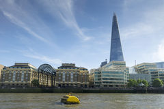The Shard on London skyline Royalty Free Stock Image