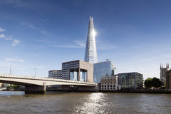 The Shard on London skyline Stock Images