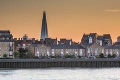 The Shard on London skyline Royalty Free Stock Photo