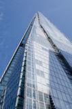The Shard, low angled view, London Royalty Free Stock Photo