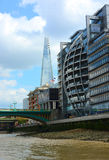 The Shard and Modern London buildings Stock Image