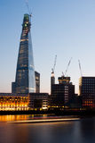 Shard at Night Stock Photography