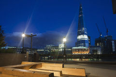 Shard by night Stock Photography