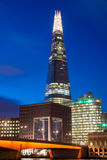The shard by Night Stock Image