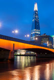 The shard by Night Royalty Free Stock Images
