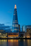 The shard by Night Royalty Free Stock Photos