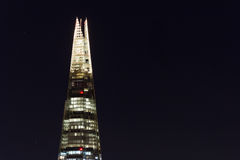 The Shard at Night Stock Images