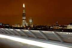 The Shard at Night Stock Image